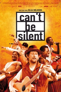 Can't be silent - Filmplakat